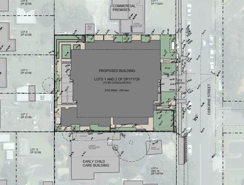 Nowra Senior Living Units Plan