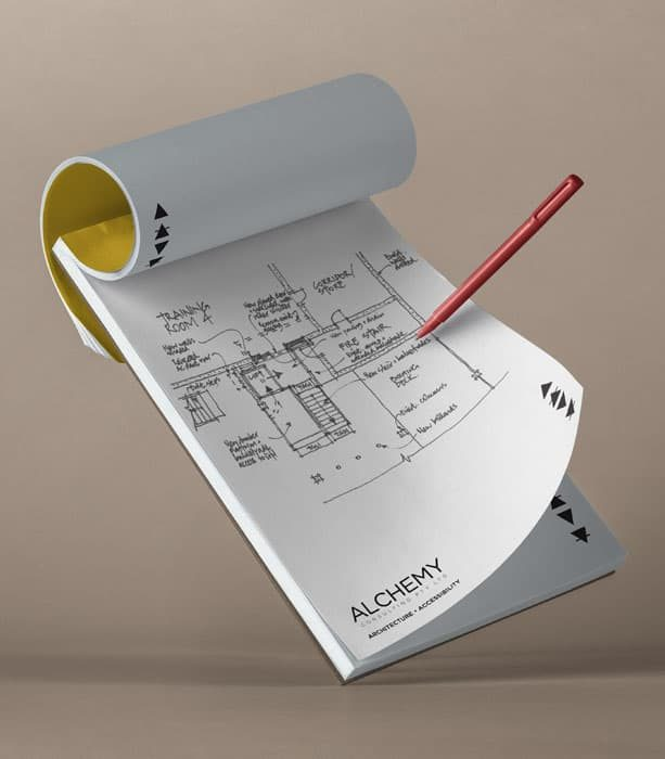We create concept sketches to begin visualising the architectural structure of the project