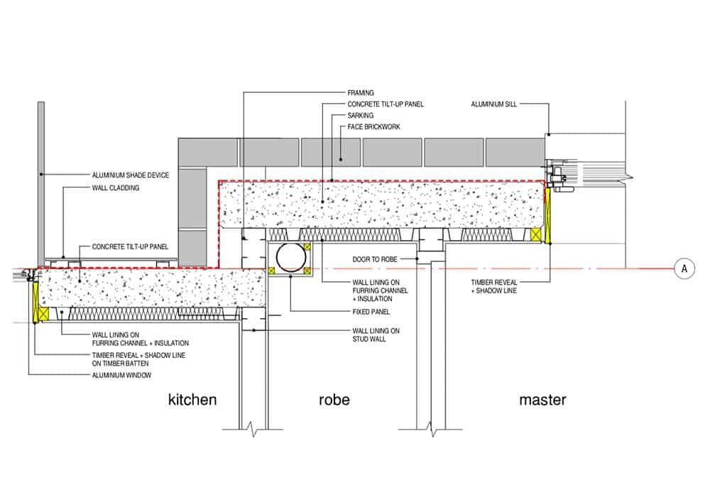 Architectural construction documents are created for Building Approval or Construction Certificate Application, tendering.